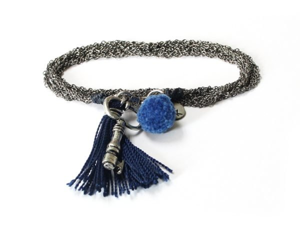 Unlock Necklace - Stormy Weather