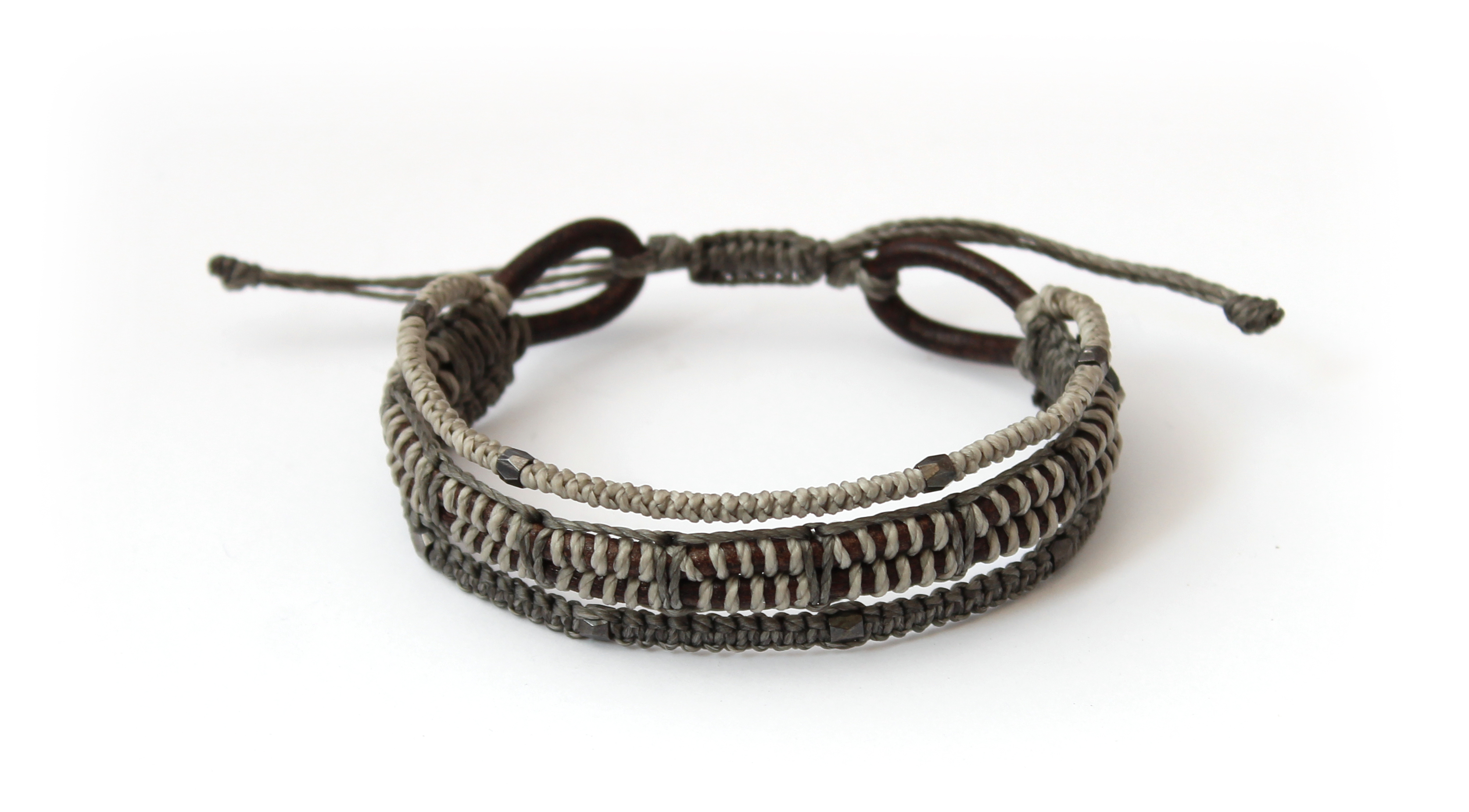 Pulsera All One Hombre - Gris