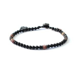 Pulsera Night Stones - Negra